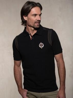 Polo short sleeves Black