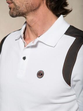 Polo Short Sleeves White