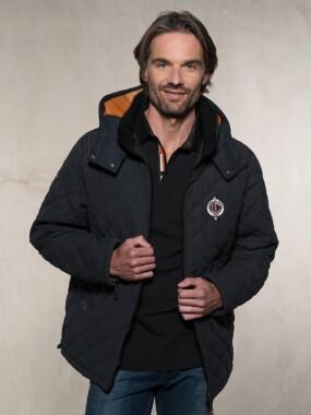 Jacket SQUADRA Black Orange
