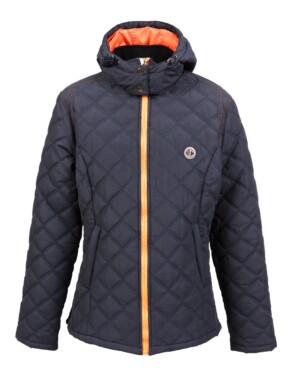 Jacket Squadra Black/Orange