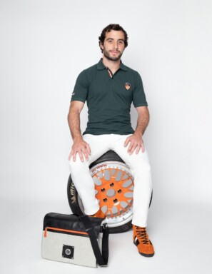 MESSENGER BIKER Orange