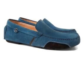 Mocassin Portofino Italian Blue